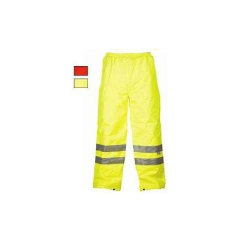 High visibility trousers water yellow