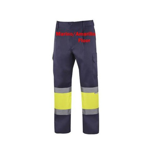 High Visibility trousers navy blue yellow