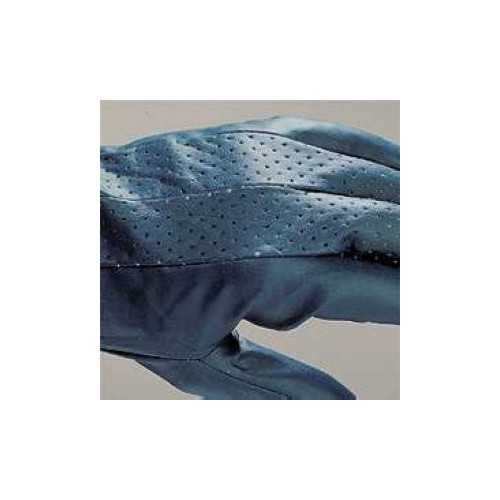 Nitrile glove with lining