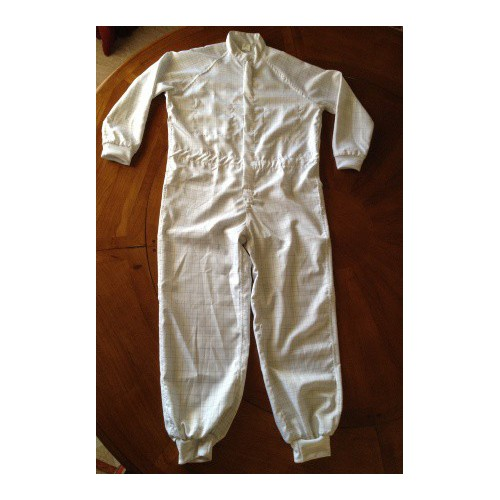 Antiestatic boiler suit