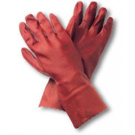 Gloves with Textile Support