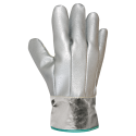 Heat resistant and anticutting gloves